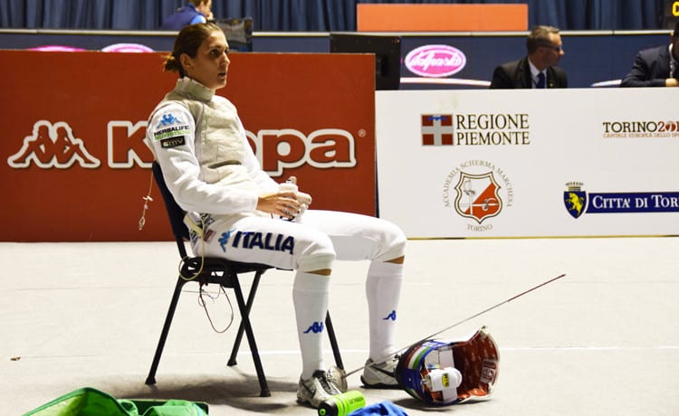 Replica Elisa Di Francisca Finale Fioretto Rai Replay: Medaglia a Rio 2016