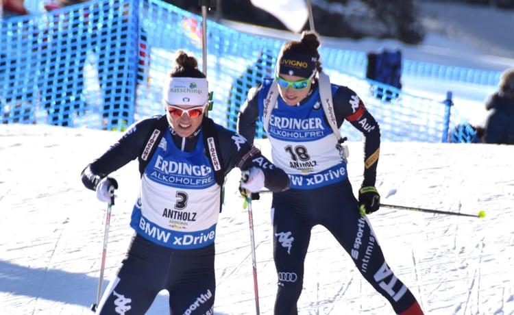 Dorothea Wierer e Karin Oberhofer