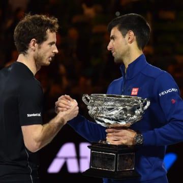 Novak Djokovic e Andy Murray