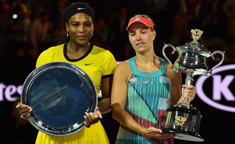 Serena Williams e Angelique Kerber