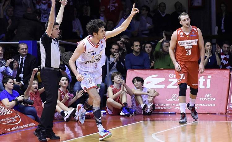 Basket. la Betaland sconfitta a Reggio Emilia
