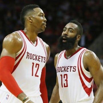 Dwight Howard e James Harden - Houston Rockets