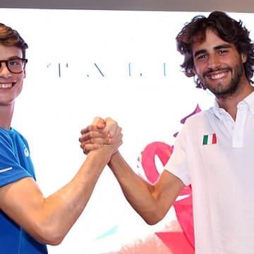 Marco Fassinotti e Gianmarco Tamber