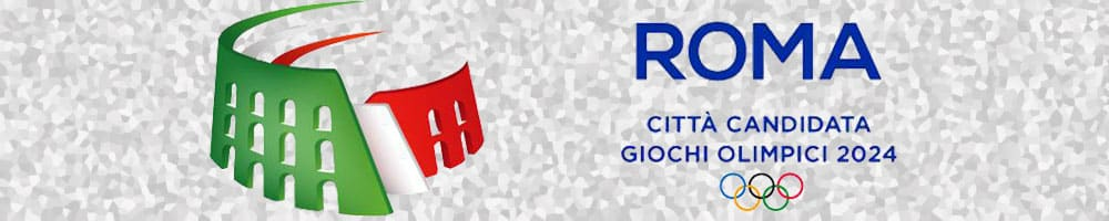 Roma 2024 sfondo mosaico