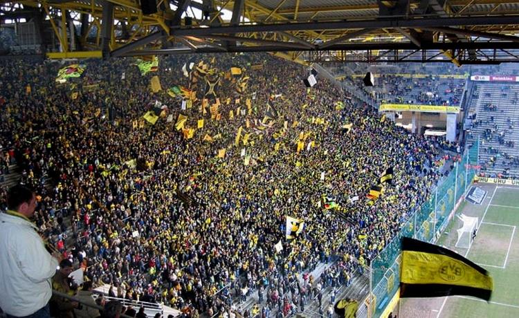 Muro Giallo Borussia Dortmund