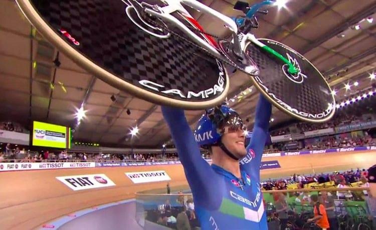 Mondiali su pista, argento a Filippo Ganna