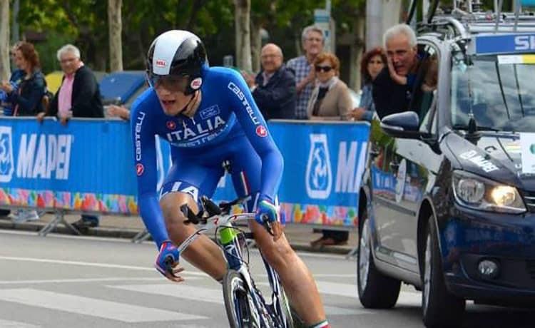 Crono individuale azzurri in retrovia con Ganna e Moser
