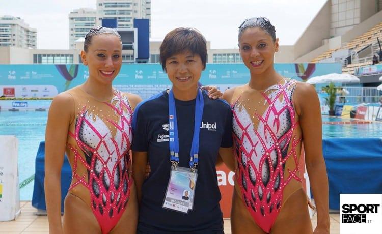 Nuoto sincronizzato: il duo Cerruti-Ferro al sesto posto