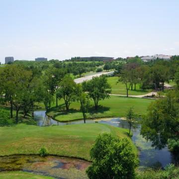 L'impianto di Irving, Texas, dove si sta svolgendo la tappa del PGA Tour