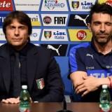 Antonio Conte e Gigi Buffon Italia