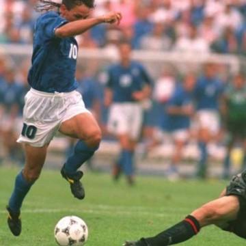 Italia-Spagna, Roberto Baggio