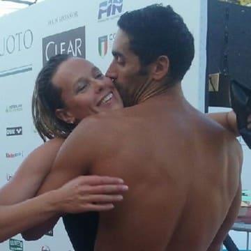 Federica Pellegrini e Filippo Magnini, nuoto