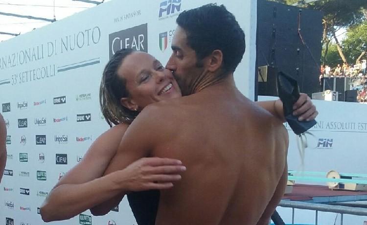 Luca Marin ricorda la storia con Federica Pellegrini