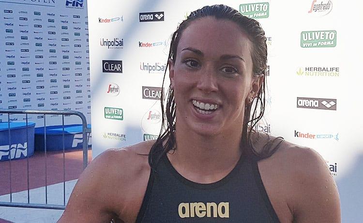 Silvia Di Pietro nuoto