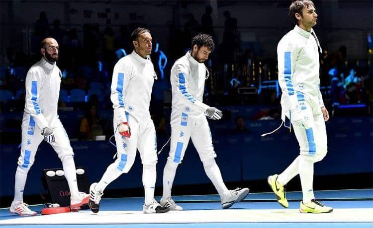 Azzurri in finale nella spada a squadre