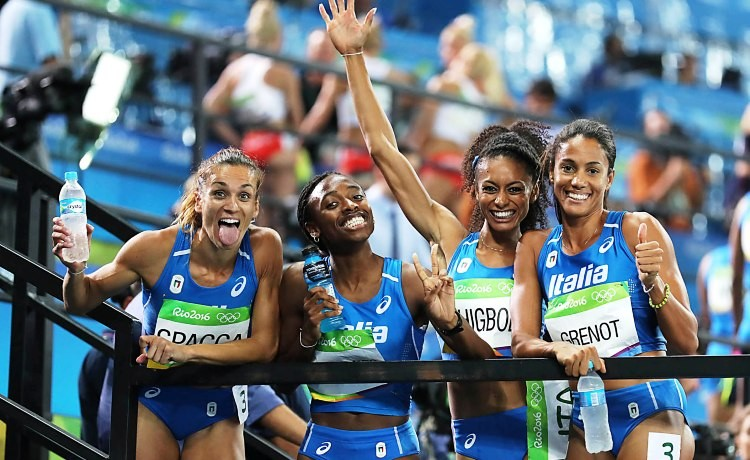 Rio 2016, Libania Grenot trascina la 4x400 metri in finale