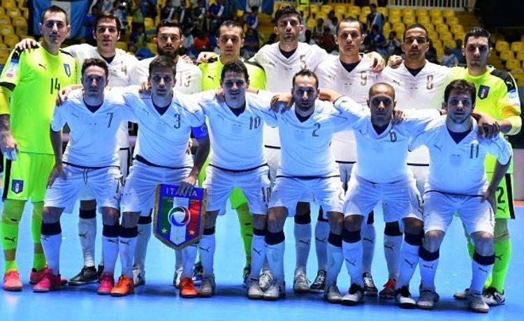 Mondiali calcio a 5,Italia basta un pari