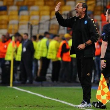 Maurizio Sarri allenatore Napoli