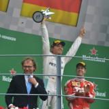 Rosberg, Hamilton e Vettel sul podio del GP di Monza di F1