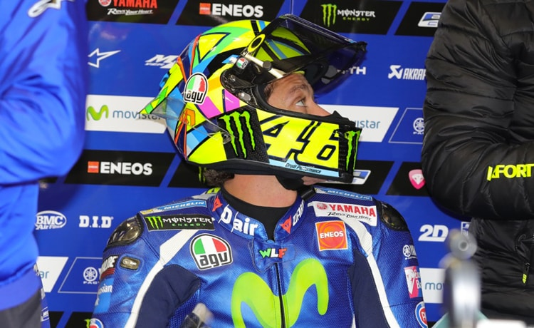 Valentino Rossi, Yamaha - Foto Bruno Silverii
