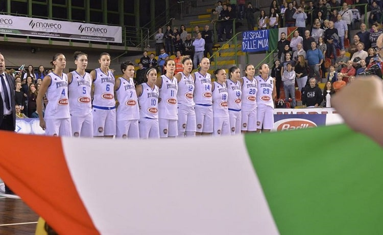 Calendario Italia Basket Europei.Basket Femminile Europei 2017 Italia Girone B Calendario