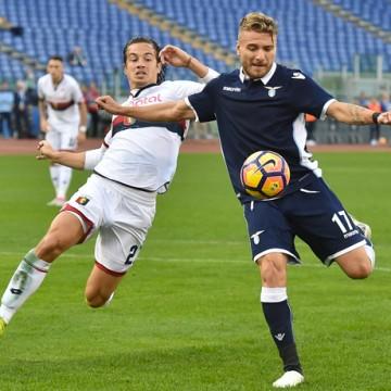Ciro Immobile Lazio vs Genoa