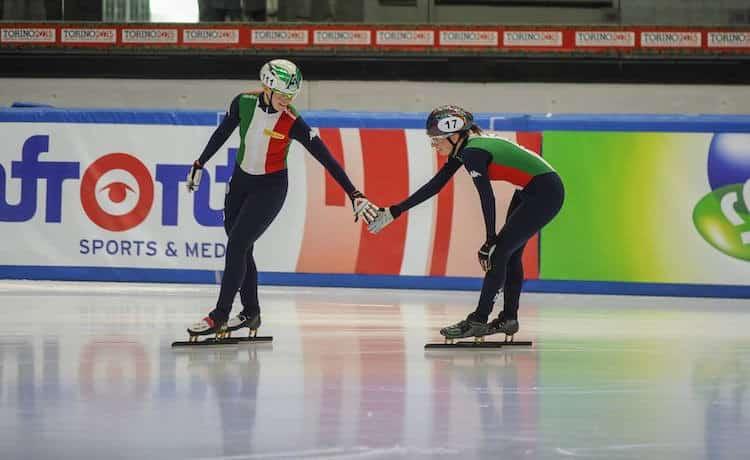 Olimpiadi invernali 2018: le azzurre della staffetta di short track in finale