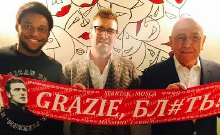 Luiz Adriano Spartak Mosca