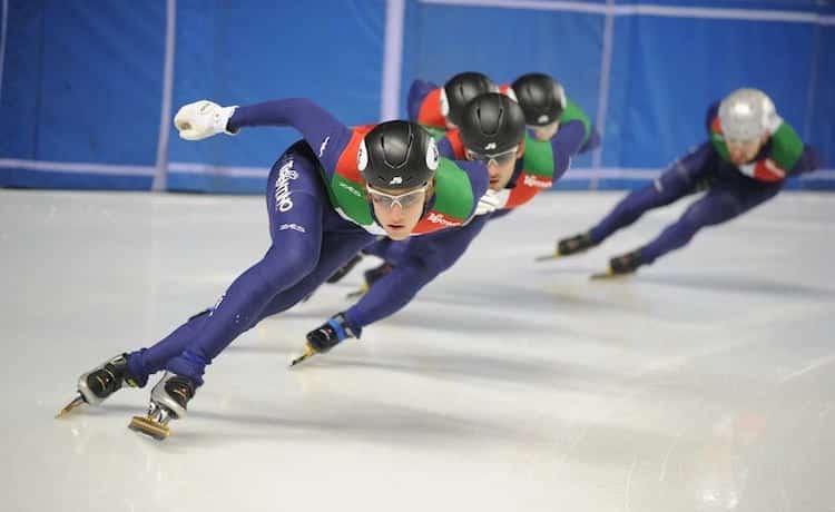 Staffetta short track maschile