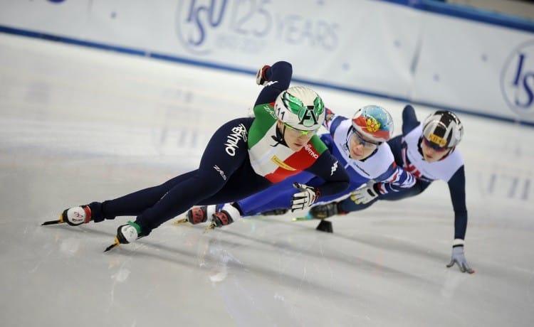 Europei short track, Valcepina doppio oro e Arianna Fontana d'argento