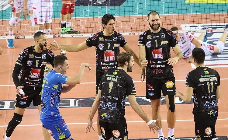 Lube Volley Calendario.Volley Champions League Playoff Colpaccio Lube Civitanova
