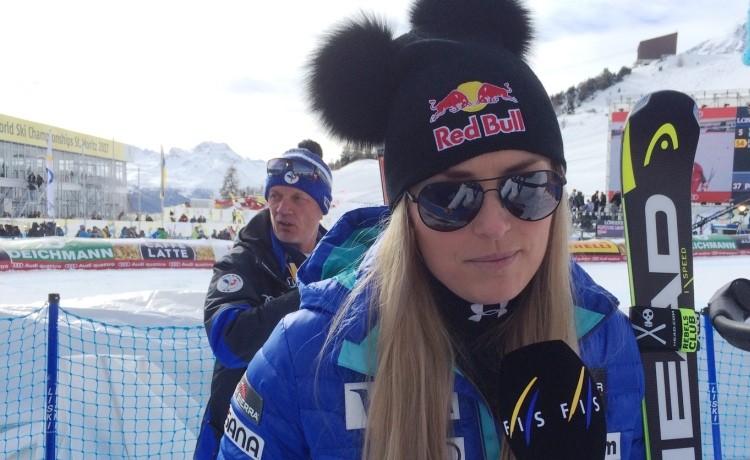Sci Alpino, Lindsey Vonn contro Trump:
