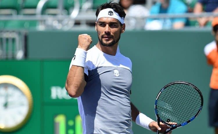 Tennis, Masters 1000 Miami: Fabio Fognini-Rafael Nadal, data