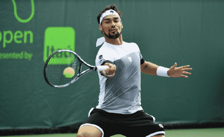 Tennis, a Miami Fognini arriva ai quarti: battuto Young