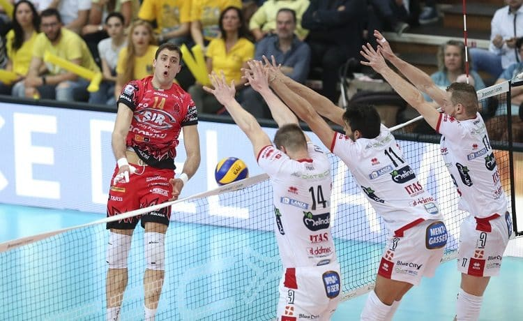 Volley: Superlega, Perugia porta Trento alla quinta partita
