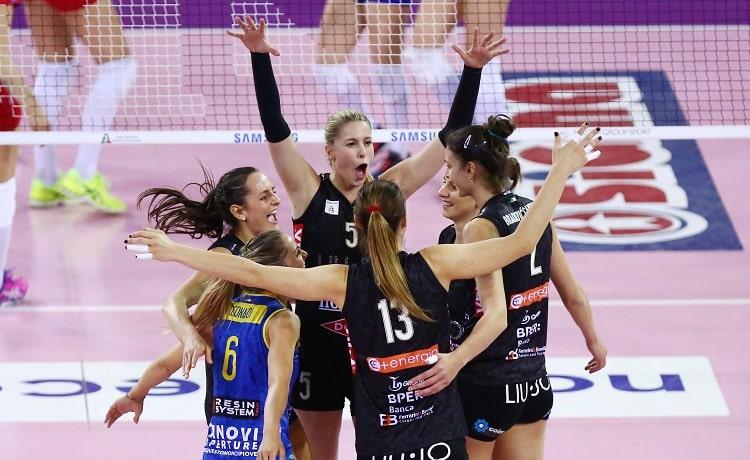 DIRETTA Volley, Modena Novara: gara 1 finale playoff