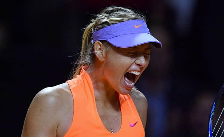 Sharapova torna a vincere: piega la bielorussa Sabalenka