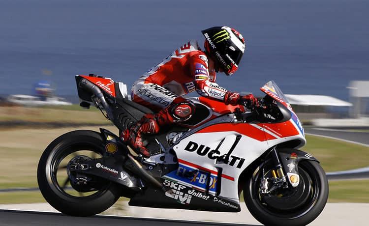 Jorge Lorenzo MotoGP Ducati 2017