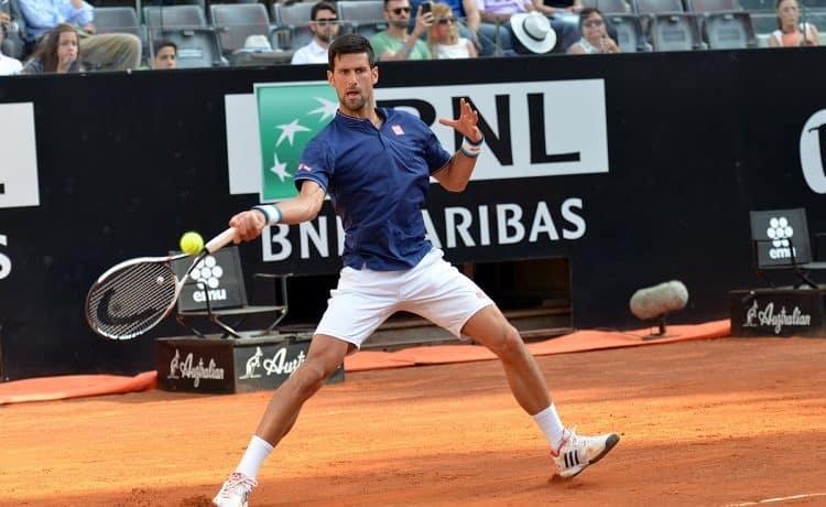 Internazionali d'Italia: la pioggia ferma Djokovic-Del Potro