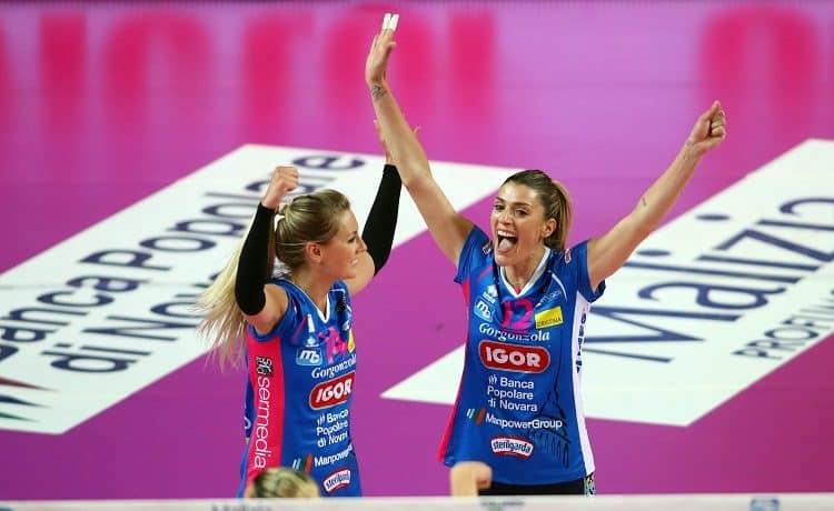 Novara Volley, 1° scudetto della storia