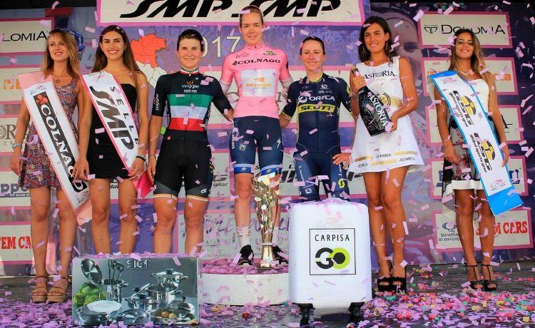 Giro donne: trionfa Van der Breggen, ultima tappa a Guarnier