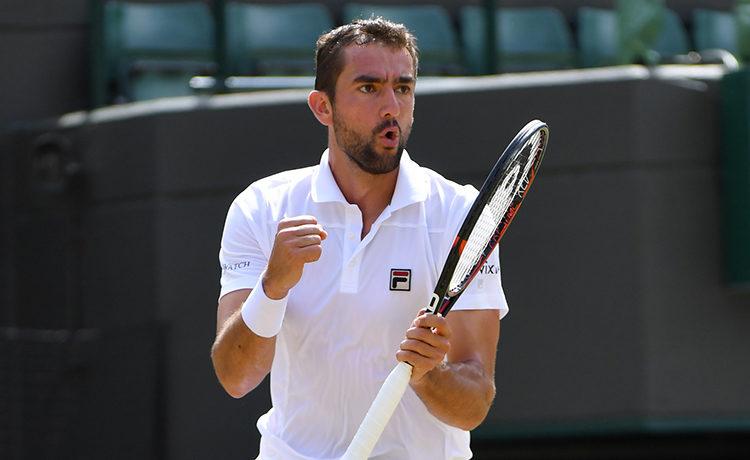 Wimbledon, è Cilic il primo finalista