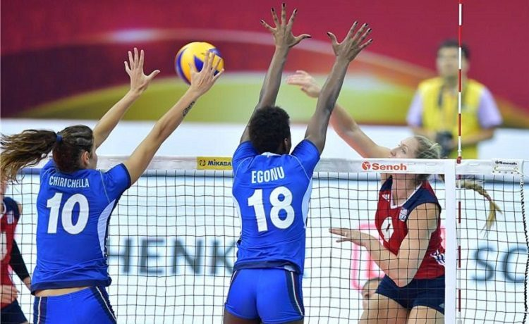 Volley femminile, Europei 2017