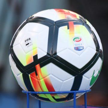 Il pallone della Serie A Tim 2017-2018