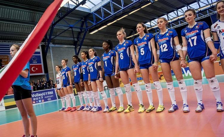 Calendario Mondiali Pallavolo Femminile.Volley Femminile Mondiali Under 18 I Gironi Ed Il