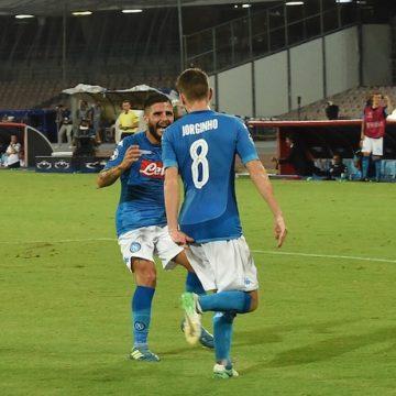 Lorenzo Insigne e Jorginho