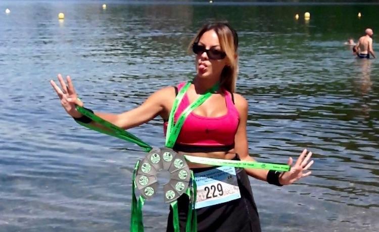 La runner Luisa Betti