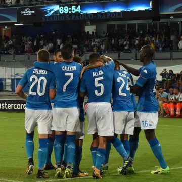 Napoli, Champions League 2017-2018