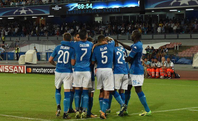 Napoli, Champions League 2017-2018