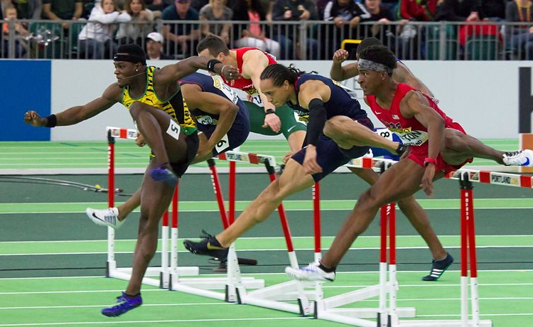 Mondiali londra 2017 mcleod oro nei 110 metri ostacoli for 110 piedi in metri
